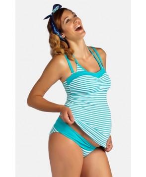 Pez D'Or 'La Mer' Three-Piece Maternity Swimsuit Set
