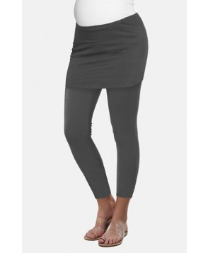 Urbanma Skirted Maternity Leggings