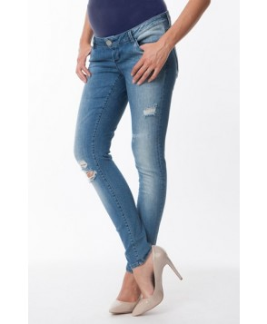 Seraphine 'Gerie' Ripped Maternity Skinny Jeans
