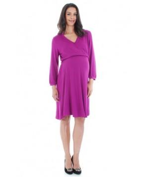 Everly Grey 'Sicily' Maternity/nursing Dress
