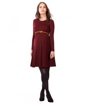 Isabella Oliver 'Danbury' Belted Maternity Skater Dress
