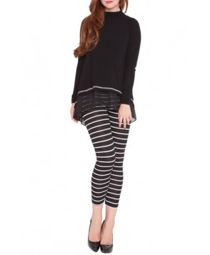 Olian 'Daisy' Maternity Crop Leggings