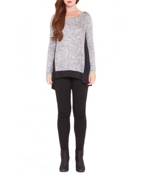 Olian 'Willow' High/low Maternity Sweater