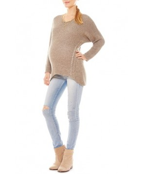Imanimo Open Knit Maternity Sweater
