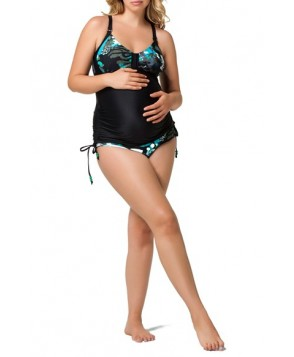 Cake 'Soda' Maternity/nursing Tankini Top & Brief Bikini Bottoms