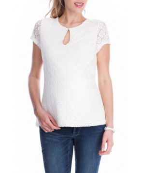 Seraphine Woven Maternity/nursing Top