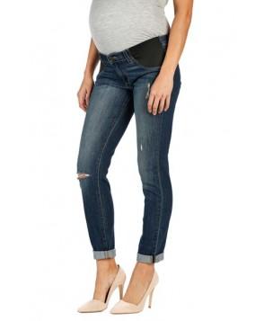 Paige 'Jimmy Jimmy' Boyfriend Skinny Maternity Jeans