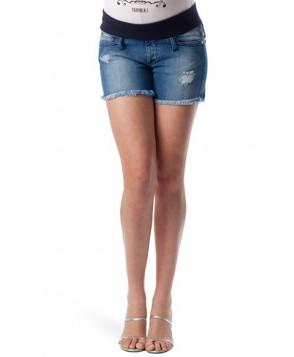 Pietro Brunelli Denim Maternity Shorts