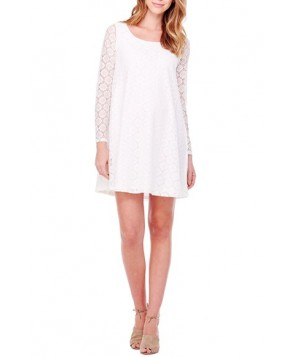 Ingrid & Isabel Dot Lace Maternity Dress