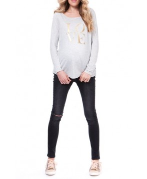 Seraphine 'Barbara' Graphic Maternity/nursing Tee