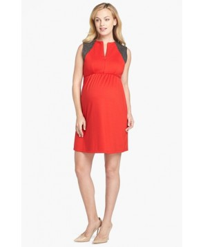 Maternal America Maternity/nursing Dress