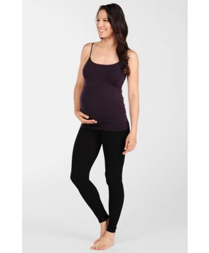 Tees By Tina Micro Rib Maternity Leggings
