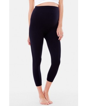 Ingrid & Isabel Seamless Maternity Capri Leggings