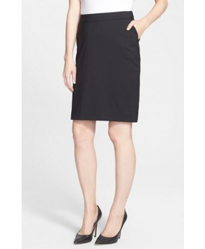 Eva Alexander London Tailored Maternity Pencil Skirt