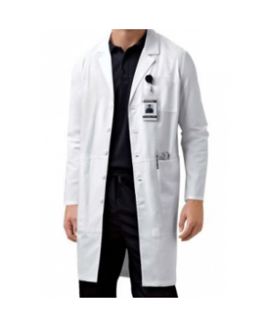 Cherokee 4 inch unisex iPad lab coat with Certainty - White