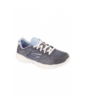 Skechers Go Fit  Presto women's athletic shoe - Charcoal/ Light Blue