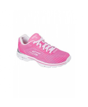 Skechers Go Walk 3 women's athletic shoe - Hot pink