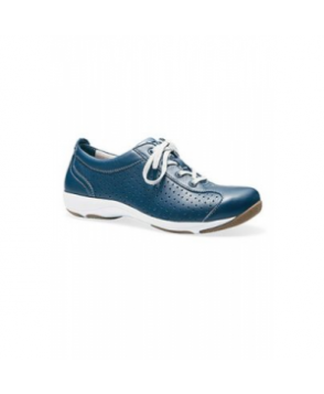 Dansko Hillary leather sneaker nursing shoe - Navy