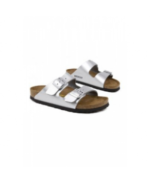 Birkenstock Arizona soft footbed womens sandal ilver