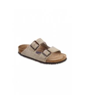 Birkenstock Professional Arizona soft footbed taupe sandal - Taupe