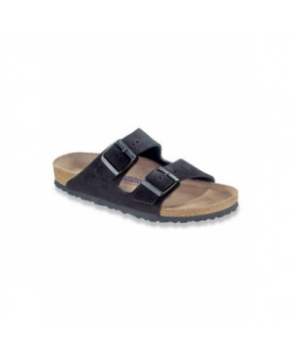 Birkenstock Professional Arizona soft footbed black sandal - Black