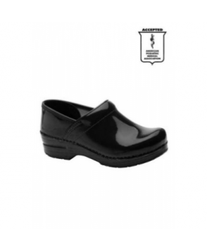 Dansko Professional patent leather nursing clog - Black