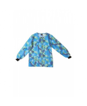 Scrub Wear Butterfly Love print scrub jacket - Butterfly Love
