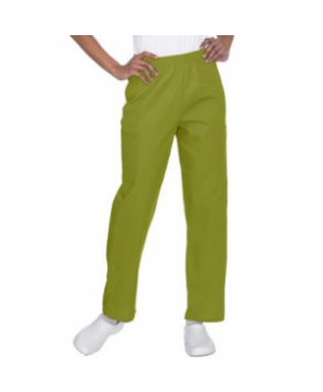 Fundamentals elastic waist cargo scrub pant - Olive