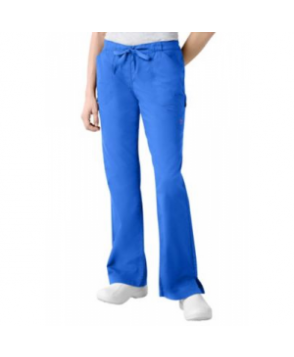 Landau Twill Collection boot-cut scrub pant - Royal - P3X