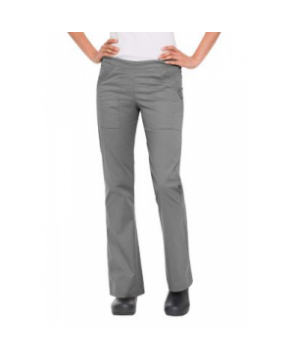 Landau Nirvana stretch drawstring cargo scrub pant teel - PS