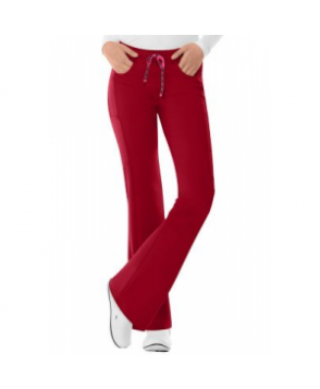 HeartSoul Love Potion drawstring scrub pant - Red