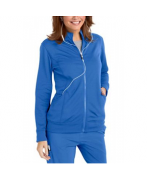 Urbane Performance Media Collection Empower P-Tech scrub jacket - Royal