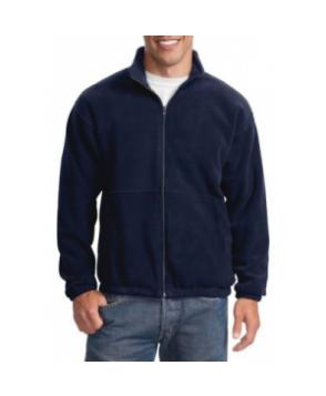 Port Authority R-Tech mens  fleece full zip jacket - Navy