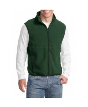 Port Authority  mens fleece vest - Dark Green