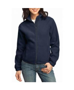 Port Authority Ladies R-Tech fleece full zip jacket - Navy