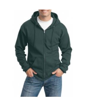 Port Authority full zipper hoodie - Dark Green