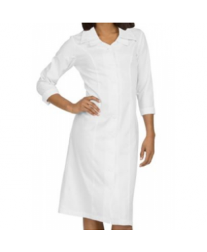 Med Couture Cathy Double Collar Dress - White 6