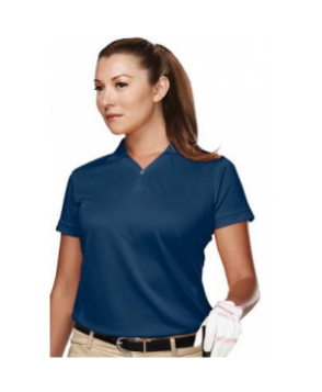 Vision ladies ultra cool polo tee - Navy
