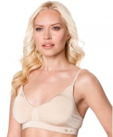 A Pea In The Pod Seamless Full-Coverage Clip-Down Nursing Bra