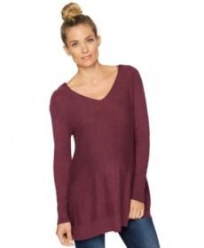 Seraphine Nursing Button-Shoulder V-Neck Sweater