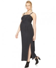A Pea in the Pod Maternity Sleeveless Maxi Dress