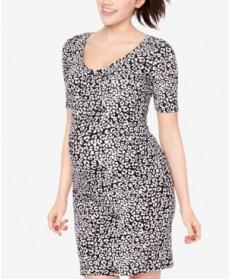 BumpStart Maternity Printed Sheath Dress