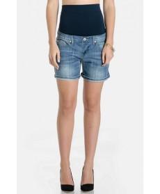 Lilac Clothing Maternity Denim Shorts