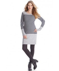 Seraphine 'Rozalia' Stripe Maternity/nursing Sweater Dress