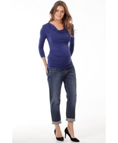 Isabella Oliver 'Leiston' Cowl Neck Maternity Top