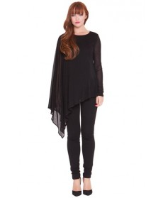 Olian 'Lisa' Maternity Cape Top