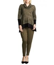 Maternal America Layered Maternity Sweater