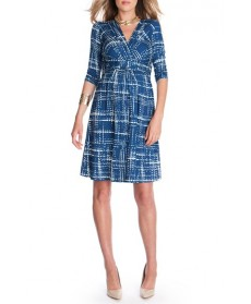 Seraphine Graphic Print Maternity Dress