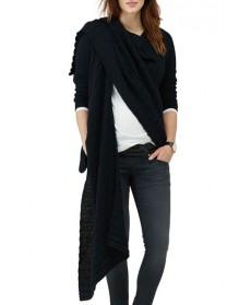 Isabella Oliver Maternity Wrap Cardigan - Black