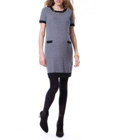 Seraphine 'Adrianna' Knit Maternity Shift Dress